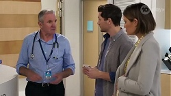 Karl Kennedy, Finn Kelly, Elly Conway in Neighbours Episode 8230