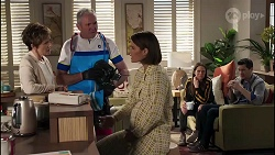 Susan Kennedy, Karl Kennedy, Elly Conway, Bea Nilsson, Finn Kelly in Neighbours Episode 8231