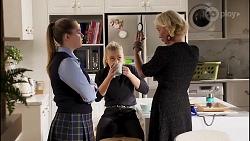 Harlow Robinson, Roxy Willis, Prue Wallace in Neighbours Episode 8231