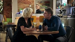 Prue Wallace, Roxy Willis, Gary Canning in Neighbours Episode 8231
