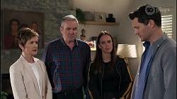 Susan Kennedy, Karl Kennedy, Bea Nilsson, Finn Kelly in Neighbours Episode 8231