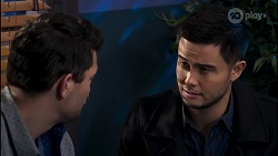 Finn Kelly, David Tanaka in Neighbours Episode 8231