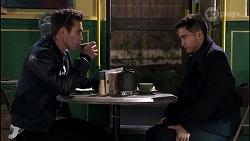 Aaron Brennan, David Tanaka in Neighbours Episode 8231