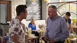 Aaron Brennan, Karl Kennedy in Neighbours Episode 8231