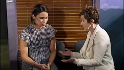 Elly Conway, Susan Kennedy in Neighbours Episode 8232