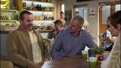 Toadie Rebecchi, Karl Kennedy, Susan Kennedy in Neighbours Episode 8232