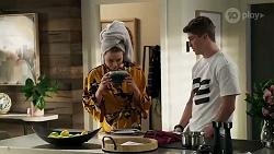 Chloe Brennan, Hendrix Greyson in Neighbours Episode 8235