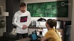 Ned Willis, Chloe Brennan in Neighbours Episode 8235