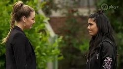 Chloe Brennan, Yashvi Rebecchi in Neighbours Episode 8235
