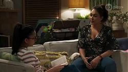Kirsha Rebecchi, Dipi Rebecchi in Neighbours Episode 8235