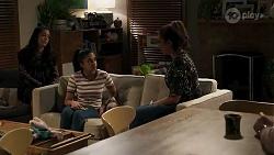 Yashvi Rebecchi, Kirsha Rebecchi, Dipi Rebecchi in Neighbours Episode 8235