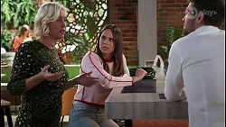 Prue Wallace, Bea Nilsson, Ned Willis in Neighbours Episode 8236
