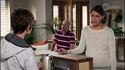 Susan Kennedy, Karl Kennedy, Elly Conway in Neighbours Episode 8236