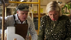 Gary Canning, Prue Wallace in Neighbours Episode 8236
