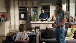 Amy Williams, David Tanaka, Kyle Canning in Neighbours Episode 8237