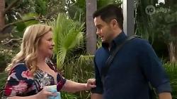 Sheila Canning, David Tanaka in Neighbours Episode 8237
