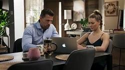 Pierce Greyson, Chloe Brennan in Neighbours Episode 8238