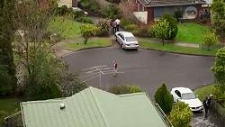 Amy Williams, Shane Rebecchi, Toadie Rebecchi, Pierce Greyson, Chloe Brennan in Neighbours Episode 8238