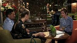 Pierce Greyson, Chloe Brennan, Susan Kennedy in Neighbours Episode 8239