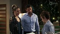 Chloe Brennan, Pierce Greyson, Susan Kennedy in Neighbours Episode 8239