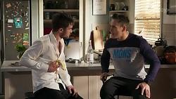 Ned Willis, Aaron Brennan in Neighbours Episode 8241