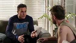 Aaron Brennan, Ned Willis in Neighbours Episode 8241
