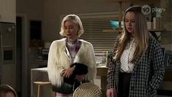 Prue Wallace, Harlow Robinson in Neighbours Episode 8241