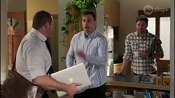 Toadie Rebecchi, Kyle Canning, Shane Rebecchi in Neighbours Episode 8242