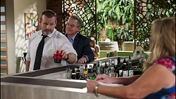 Toadie Rebecchi, Paul Robinson, Sheila Canning in Neighbours Episode 8242