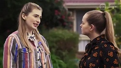 Mackenzie Hargreaves, Harlow Robinson in Neighbours Episode 8243