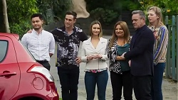 David Tanaka, Aaron Brennan, Amy Williams, Terese Willis, Paul Robinson, Mackenzie Hargreaves in Neighbours Episode 8243