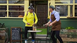 Karl Kennedy, Gary Canning in Neighbours Episode 8243