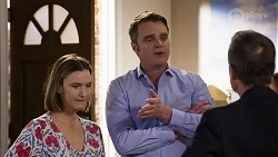 Amy Williams, Gary Canning, Paul Robinson in Neighbours Episode 8243