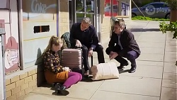 Harlow Robinson, Paul Robinson, Gary Canning in Neighbours Episode 8243