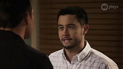 Aaron Brennan, David Tanaka in Neighbours Episode 8243