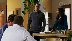 Shane Rebecchi, Toadie Rebecchi, Kyle Canning, Dipi Rebecchi in Neighbours Episode 8244