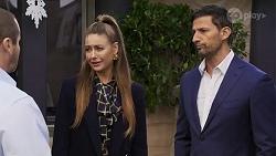 Toadie Rebecchi, Chloe Brennan, Pierce Greyson in Neighbours Episode 8246