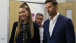 Chloe Brennan, Paul Robinson, Pierce Greyson in Neighbours Episode 8246