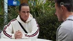 Bea Nilsson, Aaron Brennan in Neighbours Episode 8246