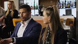 Harlow Robinson, Pierce Greyson, Chloe Brennan in Neighbours Episode 8246
