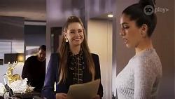 Chloe Brennan, Yashvi Rebecchi in Neighbours Episode 8247