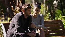 Ned Willis, Yashvi Rebecchi in Neighbours Episode 8247