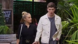Roxy Willis, Hendrix Greyson in Neighbours Episode 8248