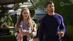 Chloe Brennan, Pierce Greyson in Neighbours Episode 8248