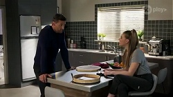 Pierce Greyson, Chloe Brennan in Neighbours Episode 8250