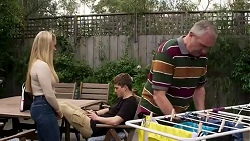 Roxy Willis, Hendrix Greyson, Karl Kennedy in Neighbours Episode 8250