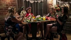 Sheila Canning, Dipi Rebecchi, Elly Conway, Chloe Brennan, Bea Nilsson in Neighbours Episode 8250