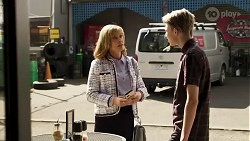 Claudia Watkins, Dean Mahoney in Neighbours Episode 8250