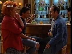 Cheryl Stark, Sam Kratz, Philip Martin in Neighbours Episode 2356