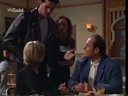 Jen Handley, Sam Kratz, Ren Gottlieb, Philip Martin in Neighbours Episode 2356